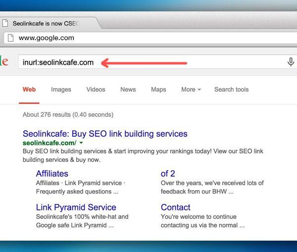Google search query operators image