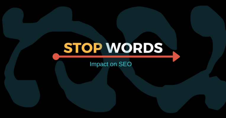 google stop words seo